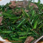 Stir Fried Liver with Chive
